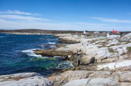 Küste der Peggy`s Cove, Nova