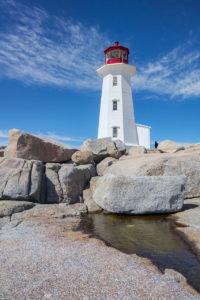 Leuchtturm bei Peggy`s Cove, Nova Scotia