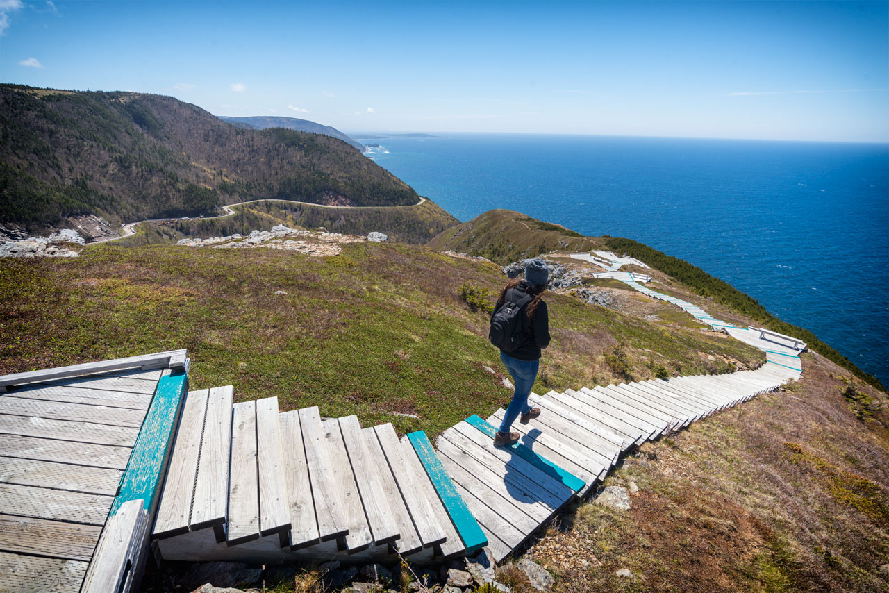 Skyline Trail auf Cape Breton, Kanda