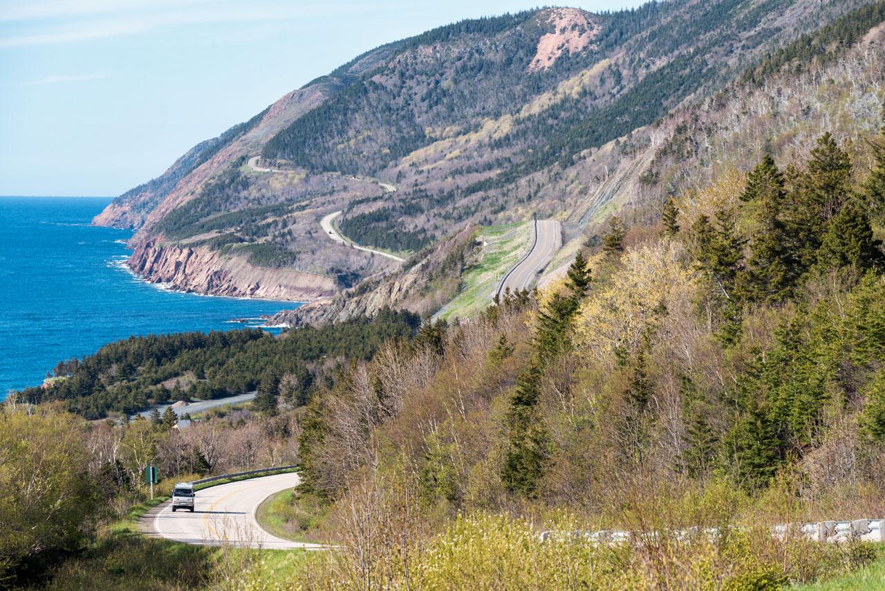 Küstenstraße Cape Breton, Cabot Trail, Kanda