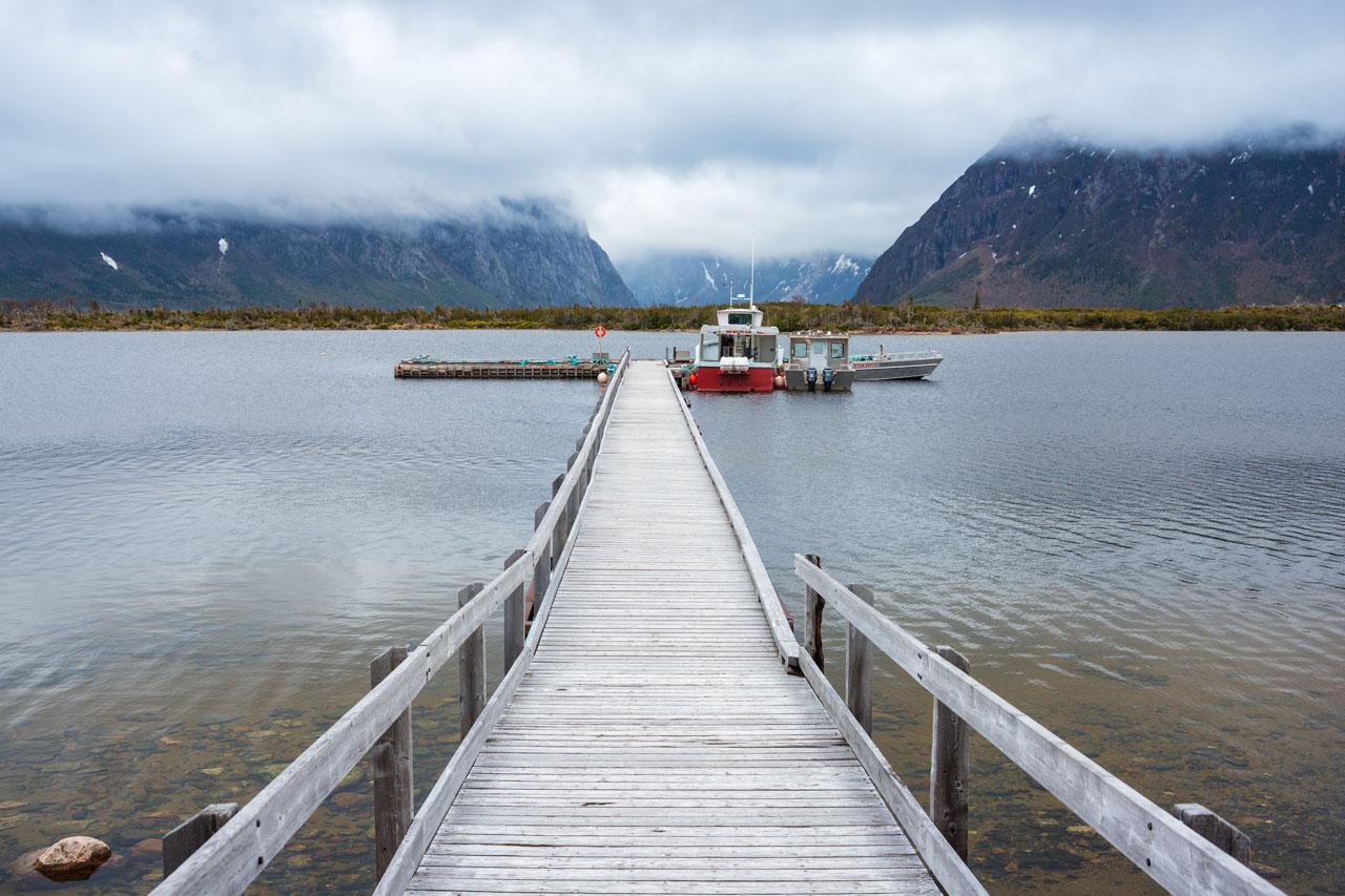 Der Western Brook Pond im Gros Morne National Park - Neufundland, Kanada