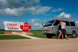 Manitoba - Mitte von Kanada