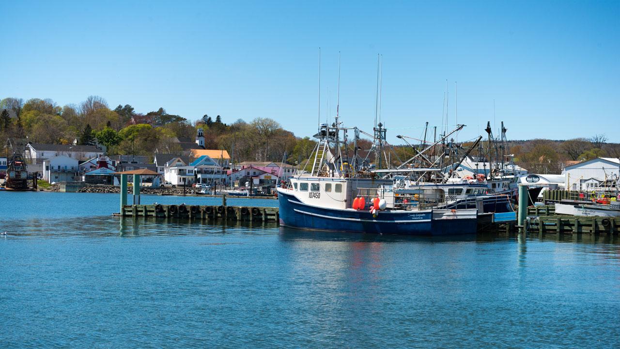 Der Hafen von Digby