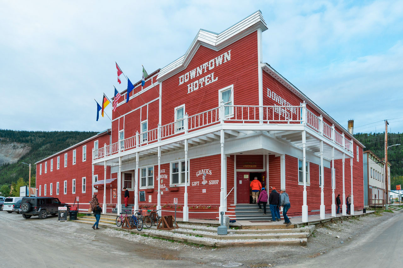 Das Downtown Hotel in Dawson City