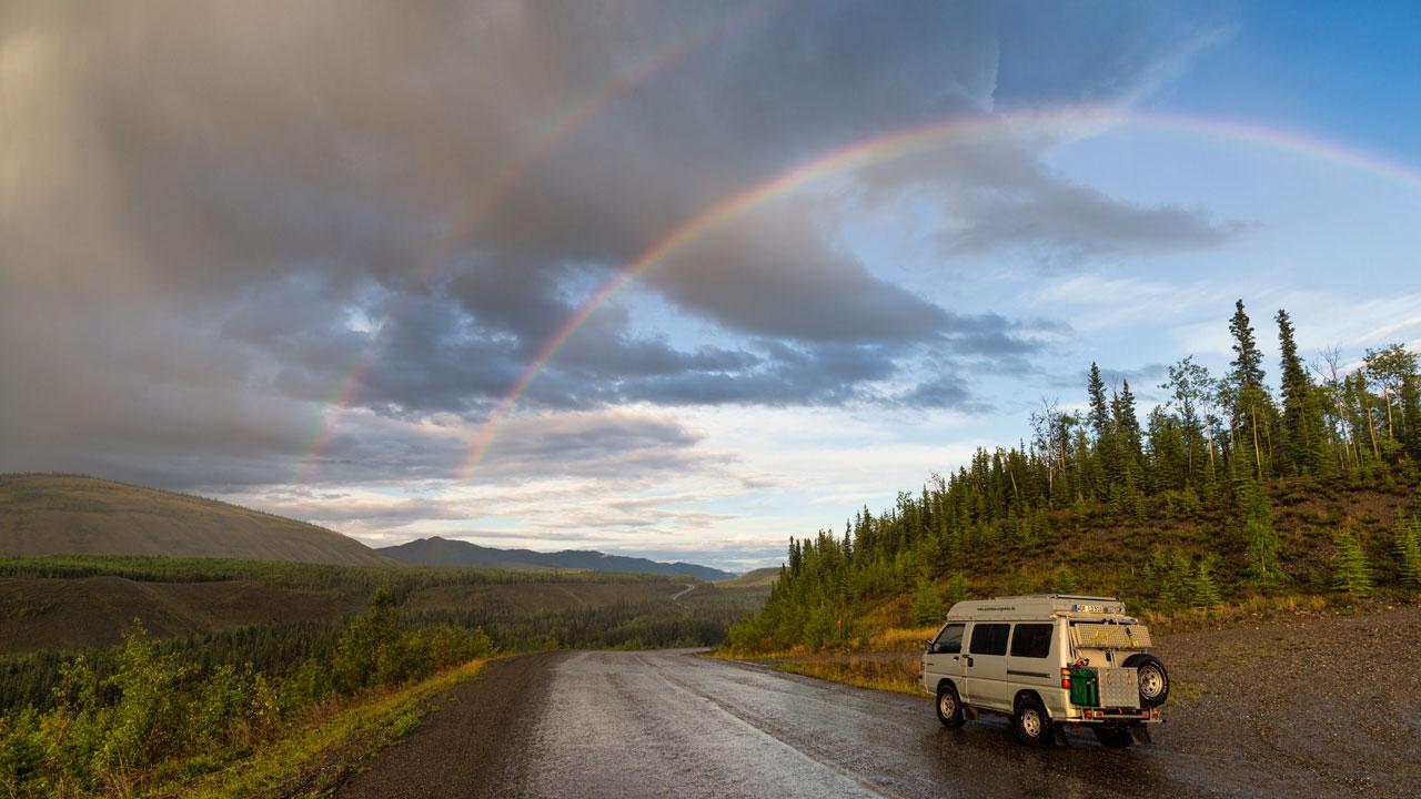 Das Bockerl unterm Regenbogen
